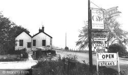 Newnham, Silver Fox Cafe c.1965