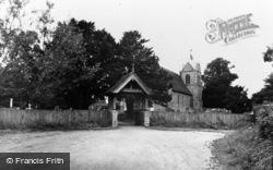 Newnham, St Nicholas Church c.1955