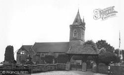 Newnham, St Peter's Church c.1955