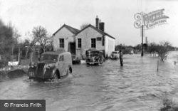 Newnham, The Flood c.1950