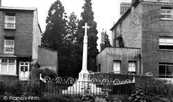 Newnham, The Memorial c.1955