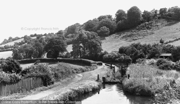 Photo of Newport, Allt-yr-Yn, the Canal Towpath c1955, ref. n25145