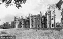 Aqualate Hall 1898, Newport