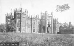 Aqualate Hall, South Front 1898, Newport