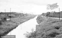 Canal Side, East And West c.1955, Newport