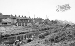 Canal Side West c.1955, Newport