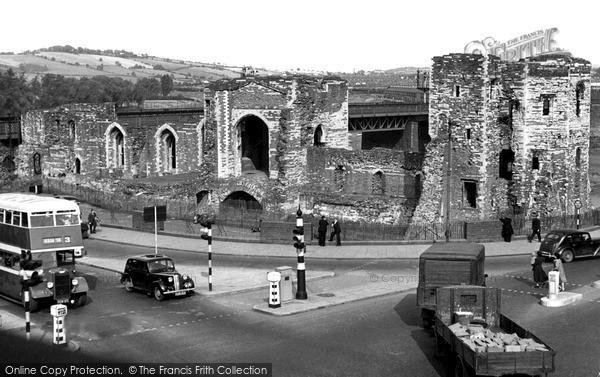 Photo of Newport, Castle c1955, ref. n25126