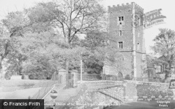 Newport, Cathedral Church Of St Woolos c.1955