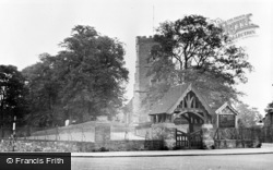 Newport, Cathedral Of St Woolos c.1955