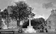 Newport, Christchurch, Church House And War Memorial c.1955