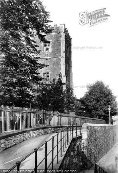 Photo of Newport, St Woolos's Church 1893, ref. 32632