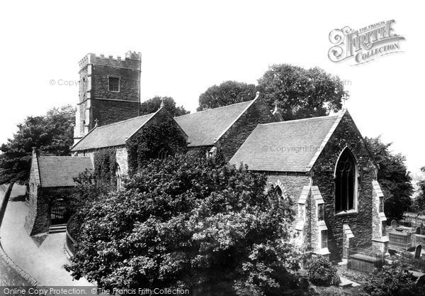 Photo of Newport, St Woolos's Church 1899, ref. 43663