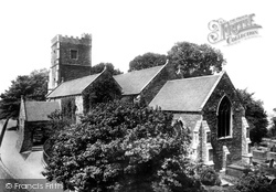 Newport, Church Of St Woolos 1899