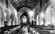 Newport, Church Of St Woolos, Interior 1893