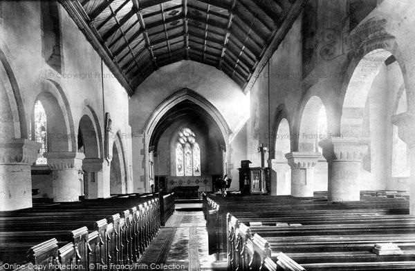 Photo of Newport, St Woolos's Church Interior 1893, ref. 32633