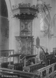 Newport, Church Pulpit 1908
