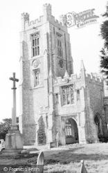 Church Tower c.1960, Newport