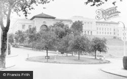 Newport, Civic Centre c.1955