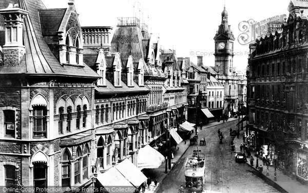 Photo of Newport, Commercial Street 1903, ref. 49479