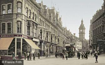 Newport, Commercial Street c1899