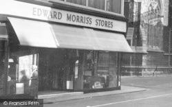 Newport, Edward Morris's Store 1935