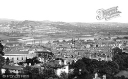 Newport, From Church Of St Woolos 1893