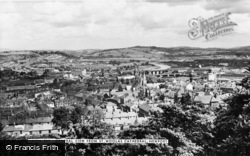 Newport, General View From Cathedral Of St Woolos c.1960