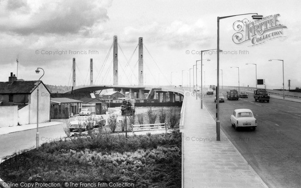 Newport, George Street Bridge c1965
