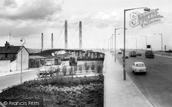 Newport, George Street Bridge c.1965