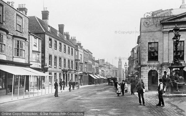 Newport, High Street 1892