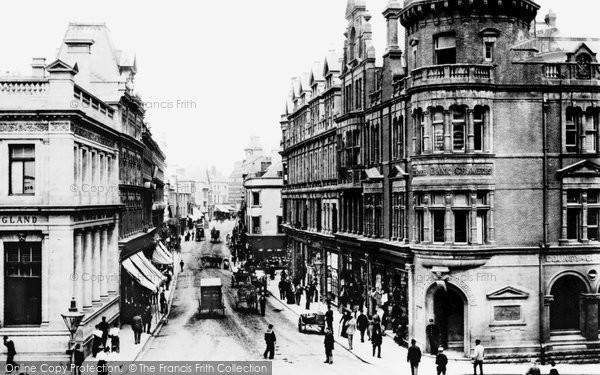 Photo of Newport, High Street 1893, ref. 32627