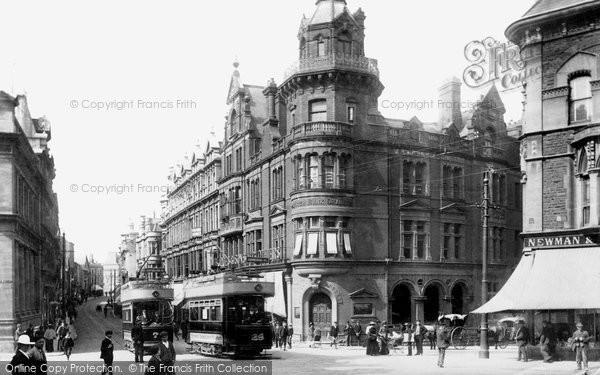 Photo of Newport, High Street 1903
