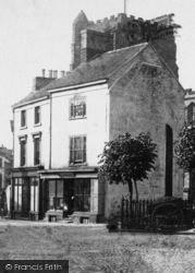 High Street And Church 1902, Newport