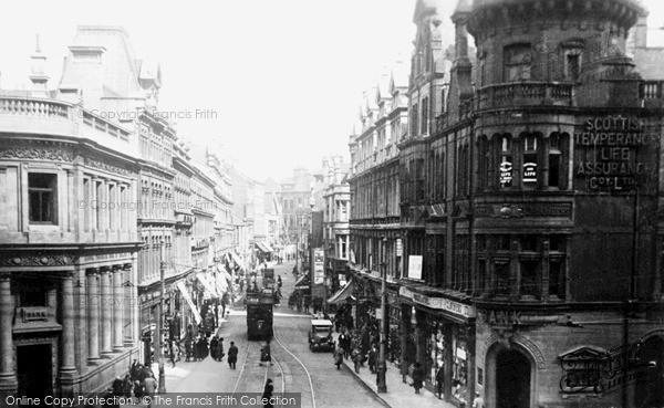 Photo of Newport, High Street c1935, ref. n25002