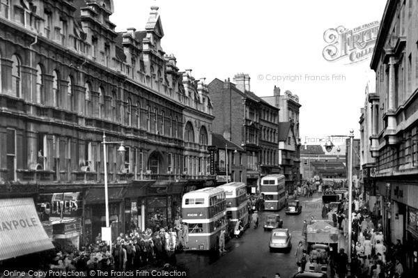 Photo of Newport, High Street c1950, ref. n25140