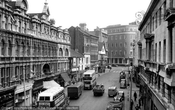 Photo of Newport, High Street c1950, ref. n25183