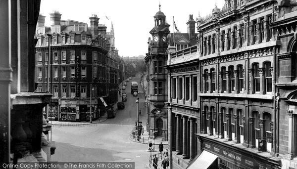 Photo of Newport, High Street c1950, ref. n25184