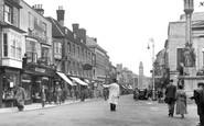 Newport, High Street c1955