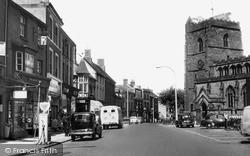 High Street c.1960, Newport