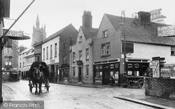 Newport, Holyrood Street 1913