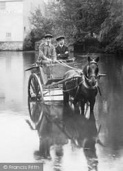Newport, Horse And Cart 1913