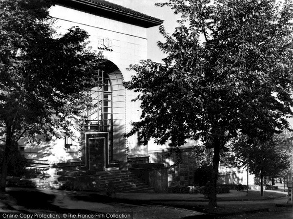 Photo of Newport, Law Courts and Civic Centre c1950, ref. n25138