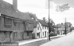 Monks Barn, High Street c.1955, Newport