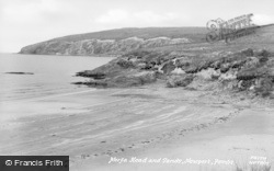 Newport, Morfa Head And Sands c.1955
