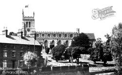 Church Of St Peter And St Paul And River Ouzel 1950, Newport Pagnell