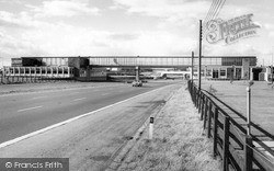 Fortes Restaurant On M1 c.1965, Newport Pagnell