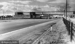 Newport Pagnell, Fortes Restaurant On M1 c.1965