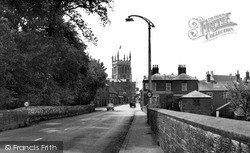From The North Approach 1956, Newport Pagnell