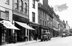 High Street 1955, Newport Pagnell