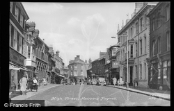 High Street c.1950, Newport Pagnell